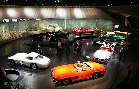 Ein Abend im Mercedes-Benz Museum