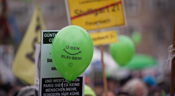 Samstagsdemo gegen Stuttgart 21: Startschuss für Bürgerbegehren