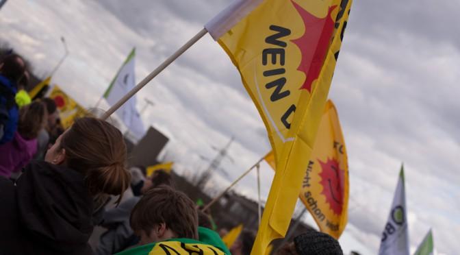Bundesweite Demonstrationen zum Fukushima-Jahrestag