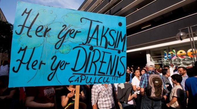 Solidaritätsdemo für die Menschen in Istanbul und Türkei