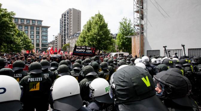 Blockupy Frankfurt – mit dem Sonderzug
