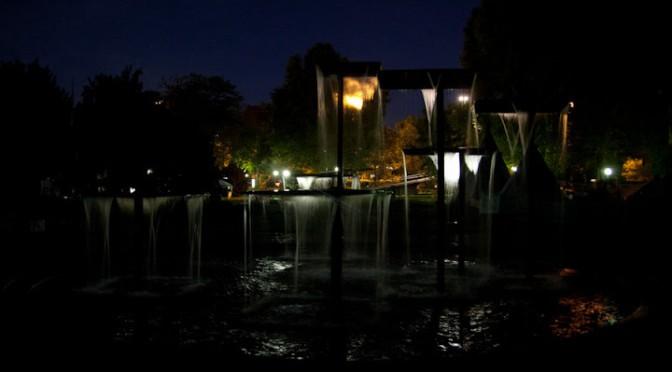 Fitz-Faller-Brunnen in den Stadtgarten