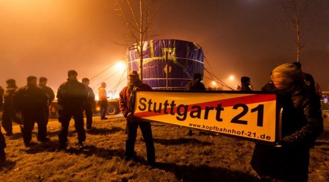 """Schwertransport """"Hauptlager der Tunnelbohrmaschine"""""""