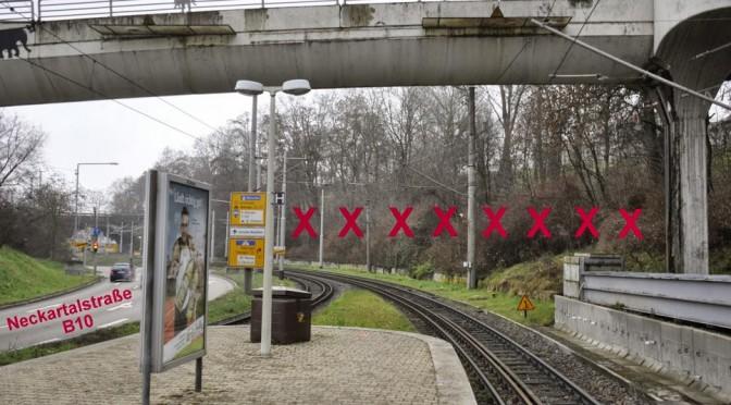 Eingriffe in das Landschaftsschutzgebiet Rosensteinpark