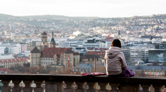 Kontrastprogramm – ein Spaziergang durch Stuttgart