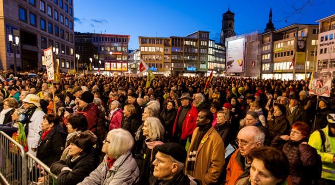 210. Montagsdemonstration gegen Stuttgart 21