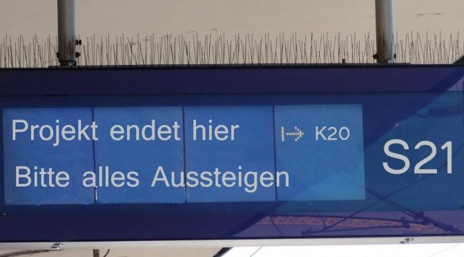 Wie weit ist Stuttgart 21 mittlerweile gebaut?