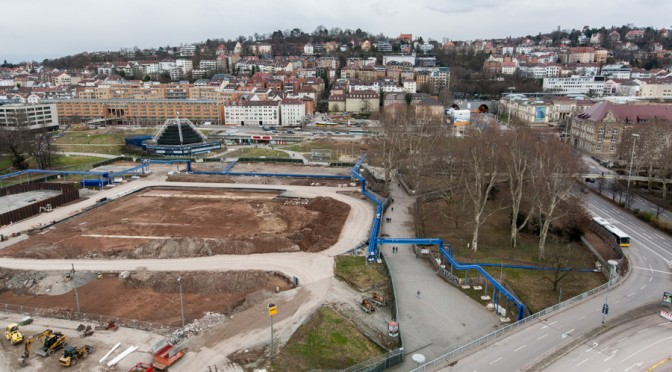 Dachabriss am Stuttgarter HBF gefährdet erneut Besucher