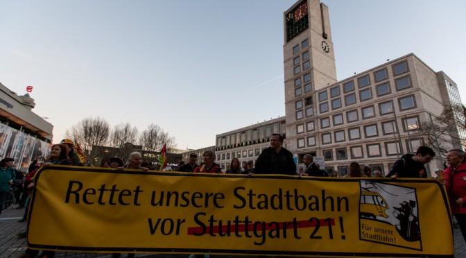 214. Demo gegen Stuttgart 21