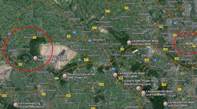 Durchsucht/geräumt aber weiter Aktiv! Der Hambacher Forst
