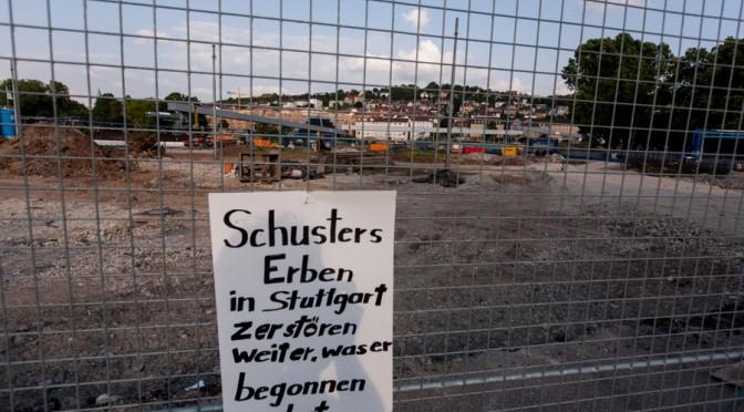 Zweieinhalb Jahre nach der sinnlosen Rodung des Schlossgartens