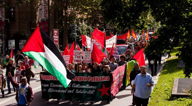 Demo gegen den Krieg in Palästina