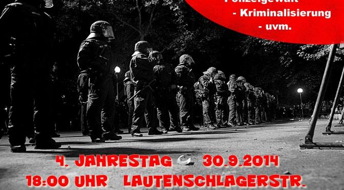 """DEMO: 4 Jahre nach dem """"Schwarzen Donnerstag"""""""