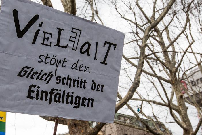Flüchtlinge sind willkommen! – Demo 05.01.2015