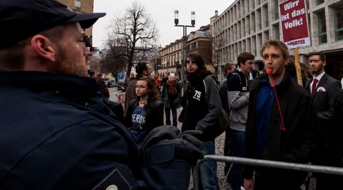 Bildungsgegner in Stuttgart