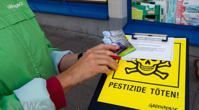 Pestizide im Einsatz – von der Blüte bis zum Apfel