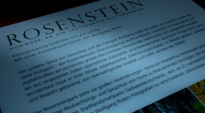 ROSENSTEIN Hommage an ein Stuttgarter Kulturdenkmal