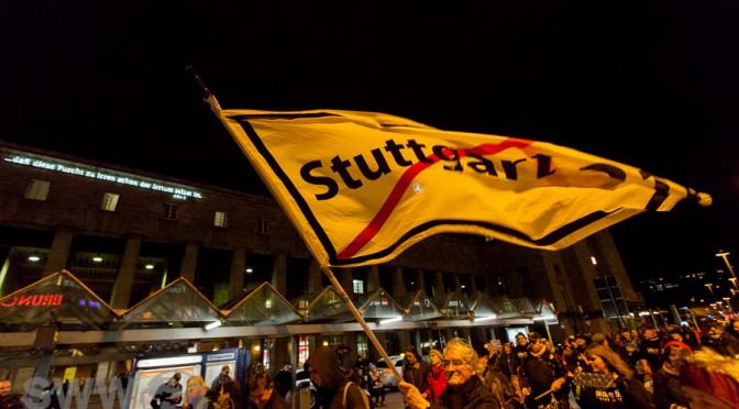 299. Montagsdemo gegen Stuttgart 21