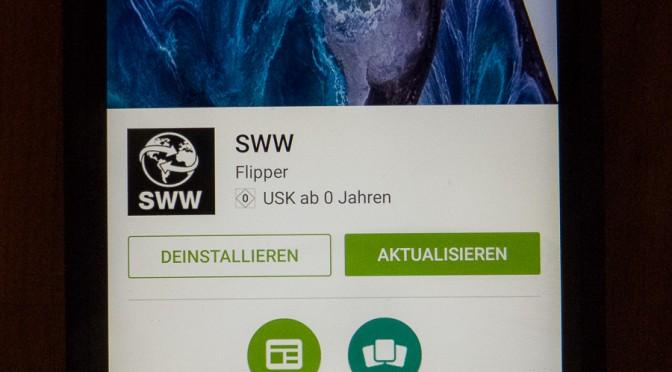 SWW nun auch als App
