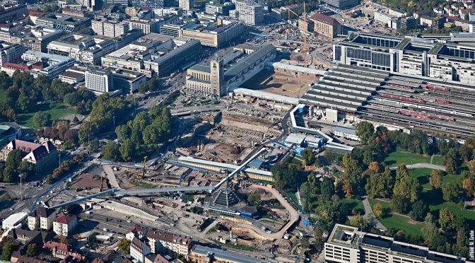 Alternative Baustellenführungen zu Stuttgart 21