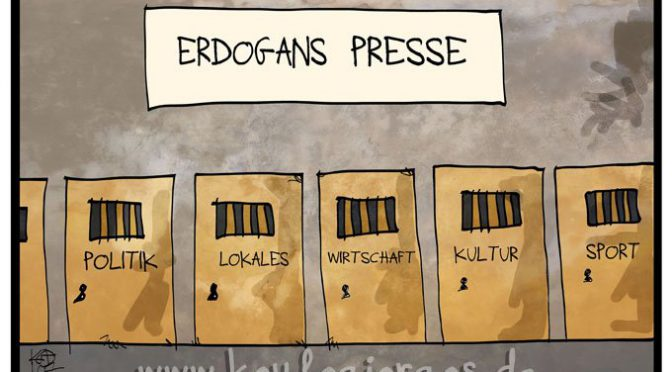 Erdogans Presse