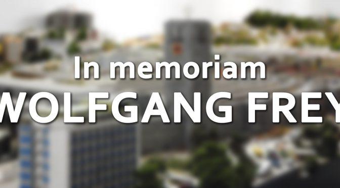 In memoriam Wolfgang Frey