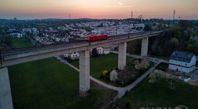 Stuttgart von Oben – Das Feuerbach Viadukt
