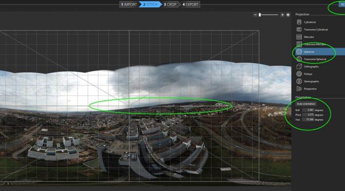 Kugelpanoramen mit Freeware Image Composite Editor und The Gimp erstellen