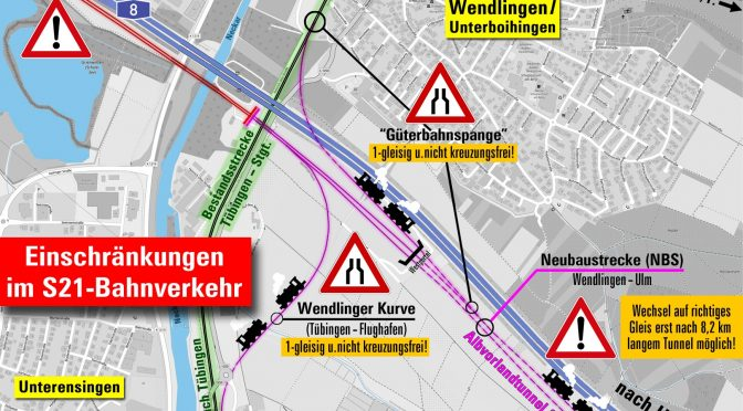"""Was macht eigentlich… Die """"Neubaustrecke Wendlingen-Ulm"""""""