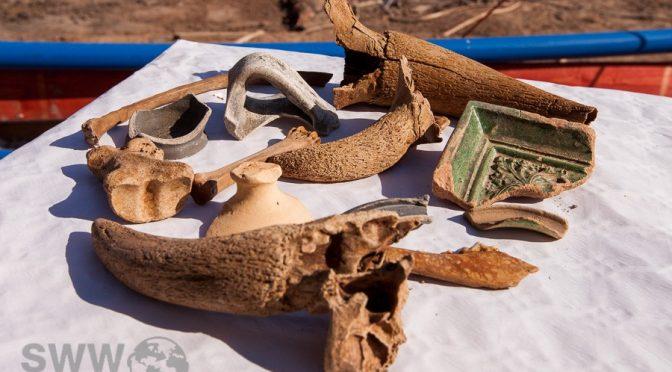 Archäologische Ausgrabungen am Nesenbach