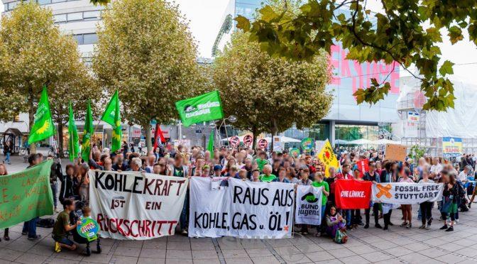 HambiBleibt Solidemo in Stuttgart