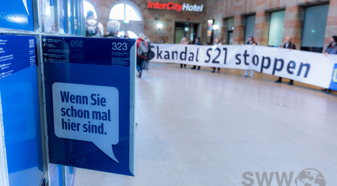 Samstagsdemo gegen Stuttgart21
