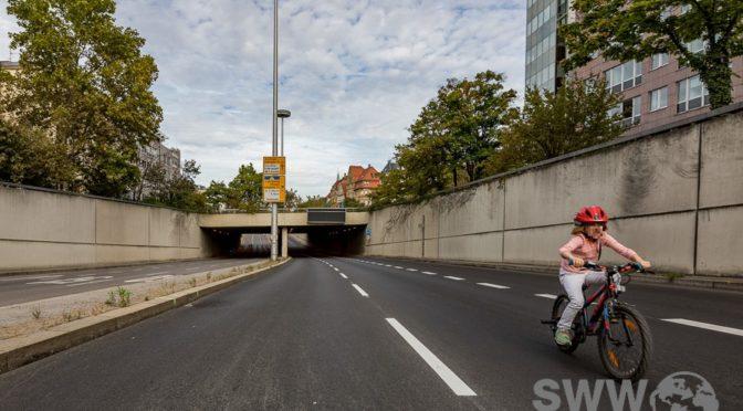Autofreier Sonntag in der Stuttgarter Innenstadt