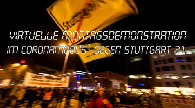 509. Montagsdemonstration gegen S21