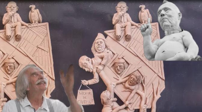 """Nächtliche Einweihung: """"S21 – Das Denkmal. Die Chronik einer grotesken Entgleisung"""""""